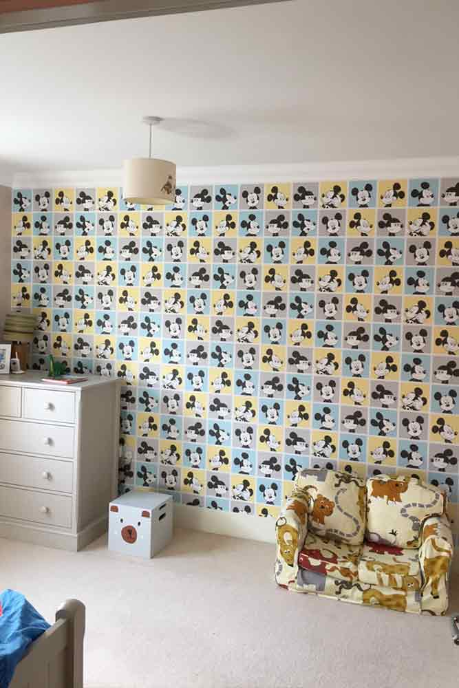 K And M Decorating Wallpaper Mickey Mouse 4