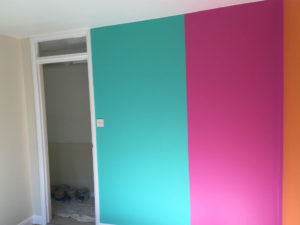 K and M Decorating Painted Childs Bedroom Faygate