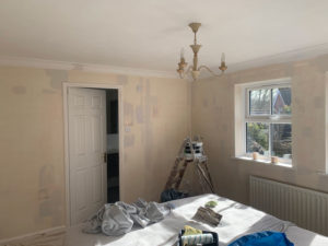 K and M Decorating Master Bedroom Southwater