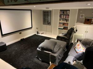 K and M Decorating basement