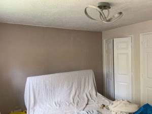 K and M Decorating Bedroom Southwater
