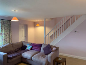 K and M Decorating Lounge and Stairs Horsham
